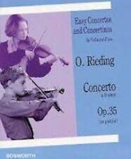 Easy Concertos and Concertinos für Violin and Piano O.Rieding Op. 35