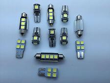 Error Free White KIT 12 SMD LED Interior Lights For Volkswagen VW Passat 3C B6