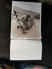 "1978 NBC TV CHiPs Larry Wilcox B/W Press Photo 7"" X 9"""