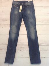 BNWT 100% Auth Diesel Hi-Vy-Uffie Super Slim, Straight Jeans. 24 Rrp £189