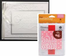 Modern Vines Cuttlebug embossing folder set - Cuttlebug Embossing folders leaves