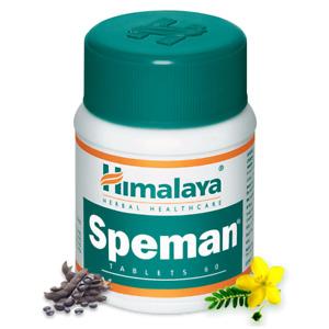 Himalaya Herbal SPEMAN TABLETS 60 Tablets   Ayurveda   Free Shipping
