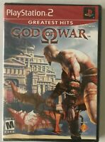 God of War (PlayStation 2 2006) Greatest Hits NEW FACTORY SEALED Sony PS2 Kratos