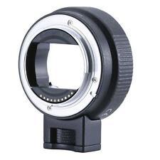 EF Lenses NEX Turn Autofocus Electronic Electronic Ring Ring Black Aluminum