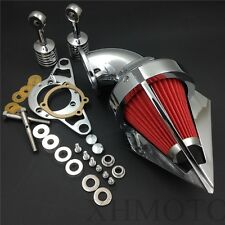 Triangle Air Cleaner For Harley Softail Fat Boy Dyna Street Bob Wide Glide Chrom