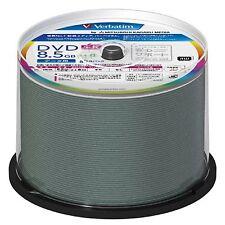 Mitsubishi Verbatim DVD+R DL  2layer 8.5GB x8 white label 50pcs DTR85HP50V1FFP