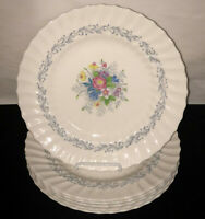 """6 Royal Doulton China*WINDERMERE* 10 3/4"""" DINNER PLATES* #4856*"""
