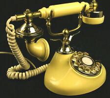 DONG JUN Vintage Victorian French Princess Rotary Phone