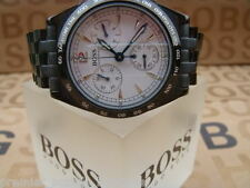 NEW HUGO BOSS MENS MOVADO PILOT DIVERS RING CHRONOGRAPH SWISS SPORTS SUIT WATCH