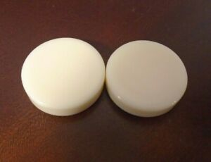 """Vintage Backgammon Replacement Checkers 1 1/4"""" Red & White Pieces - You Pick"""
