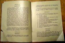 Benj. Tilgham Camp # 61 By-Laws Booklet US Spanish Am. War Veterans Dept. of PA