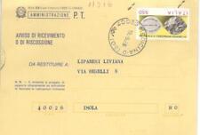 11016 - STORIA ITALIA 1986 - OFTALMOLOGIA. - AVVISO RICEV.IMENTO.- VEDI  FOTO