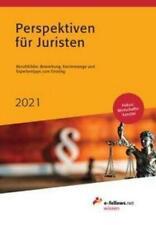 Perspektiven für Juristen 2021, Michael Hies