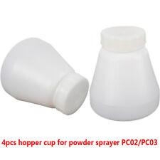 New listing 4Pc Electrostatic Sprayer Hopper Cup Bottle For Powder Coating Spray Gun Sale Us
