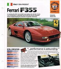 1997 ferrari f355 IMP Folleto