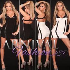 Short Sleeve Polyester/Elastane Dresses for Women