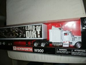 CAMION KENWORTH W 900   + REMORQUE CONTAINER  1/43°   EN BOITE NEW RAY