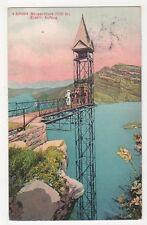 Switzerland, Burgenstock, Elektr. Aufzug 1914 Postcard, B376