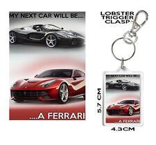 FERRARI KEYRING Matching Mug Available My Next Car Will Be A Ferrari