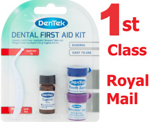 DenTek Dental First Aid Kit Emergency Temporary Tooth Filling Repair Saver