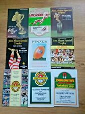 More details for rugby league final programmes 1951 - 2012