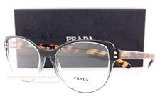 Brand New Prada Eyeglass Frames 12VV 476 Gradient Green/Havana Size 54 For Women