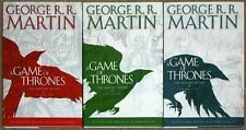 GEORGE RR MARTIN ~ A GAME OF THRONES GRAPHIC NOVELS ~ VOLUMES 1-3 ~ HC ~ NEW