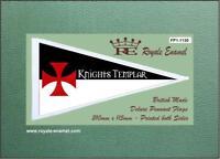 Royale Antenna Pennant Flag KNIGHTS TEMPLAR ENGLAND - FP1.1130