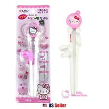 Hello Kitty Kids Very First Learning Training Right-Handed Chopsticks (Random)