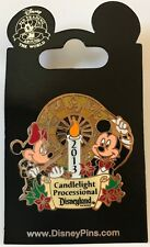 Disney DLR 2013 Candlelight Processional Mickey and Minnie Mouse Pin LE