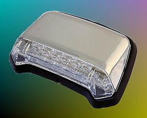 LED Feu Arrière Chrome Yamaha XV 125 250 535 750 1000 1100 Virago