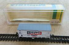 Minitrix N 13603 Gedeckter Güterwagen CINZANO Ep. IV in EVP