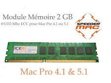  Mémoire 2 GB (1x 2GB) DDR3  1333MHz  ECC / Mac Pro 2009 2010 2012, 4.1 ou 5.1