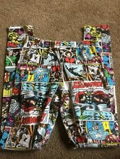 Girls Marvel Active Athletic Pants Tights Leggings S
