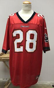 NOS DEADSTOCK Tampa Bay Buccaneers Warrick Dunn #28 Nike NFL Jersey XXL