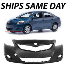 NEW Primered - Front Bumper Fascia Replacement for 2007-2012 Toyota Yaris Sedan