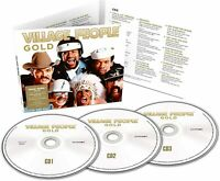 VILLAGE PEOPLE : GOLD (3 CD DIGIPACK) - BRAND NEW AND SEALED CD=