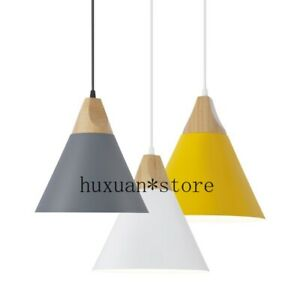 LED Pendant Lights/Pendant Lamps Aluminum Suspension Luminaire Wood Hanging 2020