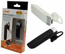 Auricolare Stereo Bluetooth Per Smartphone Cellulari Iphone Linq R551
