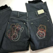 Sessions Ridge Snowboard Stone Denim Pants Men's Sz M Recco Rescue Reflector