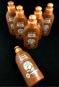 Garnier Whole Blends Smoothing Leave-In Conditioner Coconut Cocoa (LOT OF 6)