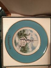 Avon Christmas Plate Series 1974 2nd Edition Country Church.