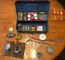 Vintage Fishing Tackle Box W Fishing Tackle Included Shakespeare 1920 Wonderreal
