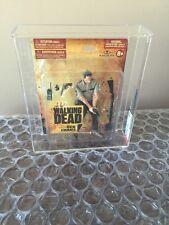 McFarlane  The Walking Dead Series 1 - Deputy Rick Grimes Rare Small Card AFA 80