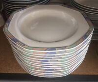 Christopher Stuart Southwest Y0002 Rimmed Soup Pasta Salad Bowls 12 Total