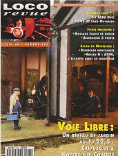 LOCO REVUE N° 593 ROTONDE CONFLANS JARNY / FOURGON Dd4S / FLANC DE BOOGIES