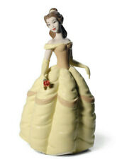 Nao by Lladro #1708 Belle Marque Nib Disney Belle et la Bête Rose Save $$ F / Sh