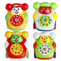 Developmental Kids Toy Gift  Baby Toys Music Educational  Cartoon Phone