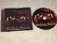 NOTHING SACRED s/t 2005 CD pittsburgh hardcore integrity cro-mags cold as life
