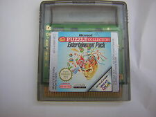 nintendo game boy color PUZZLE COLLECTION  jeu nes GBA